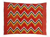 A Navajo Transitional Wedgeweave Blanket Giclee Print