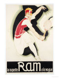 Ram, 1930 Reproduction procédé giclée par René Vincent