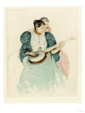 Mary Cassatt - The Banjo Lesson, Circa 1893 - Giclee Baskı