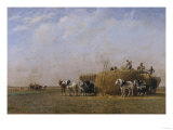 Loading the Hay Carts Prints by Sir William Beechey
