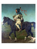 The Miller from Chaucer's 'Canterbury Tales', 1878 Giclee Print by John Brett