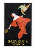 Sauvion's Brandy, 1925 Prints by Leon Benigni
