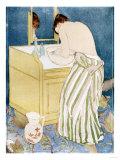 Woman Bathing, 1890-91 Reproduction procédé giclée par Mary Cassatt