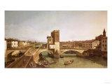 Ponte Delle Navi, Verona Poster by Sir William Beechey