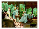 In the Conservatory (The Rivals), 1875-8 Prints by Sir Lawrence Alma-Tadema