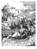 The Sea Monster, 1498 Art by Frank Cadogan Cowper