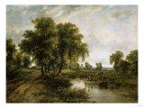 Dedham Vale, Suffolk Giclée-tryk af Cristofano Allori