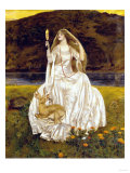The Damsel of the Lake, Called Nimue the Enchantress,1924 Giclee Print by Frank Cadogan Cowper