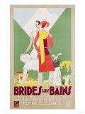 Brides Les Bains, 1929 Giclee Print by Leon Benigni