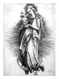 The Virgin and Child on a Crescent, 1499 Prints by Frank Cadogan Cowper