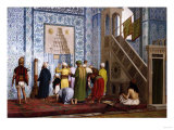 The Blue Mosque, 1878 Giclee Print by Filipo Or Frederico Bartolini