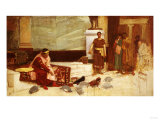 The Favourites of the Emperor Honorius (Ad 384-423) Giclee Print by Sir Lawrence Alma-Tadema