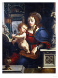 The Madonna and Child, in an Architectural Setting Giclee Print by Jan Brueghel the Elder