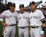 Alex Rodriguez, Jorge Posada, and Derek Jeter Photo