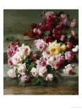 Rosen Poster von Cristofano Allori