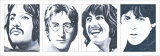 The Beatles Poster by Bob Celic