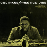 John Coltrane - Prestige 7105 Poster