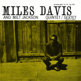 Miles Davis and Milt Jackson - Quintet / Sextet Fotografa