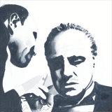 Don Corleone Print by Bob Celic