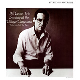 Bill Evans Trio - Sunday at the Village Vanguard Posters