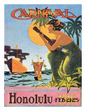 Mid-Pacifica Carnival 1916, Honolulu, Hawaii Prints