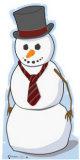 Snowman Cardboard Cutouts
