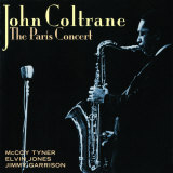 John Coltrane - The Paris Concert Poster