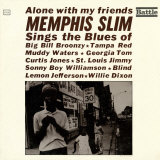 Memphis Slim - Alone with My Friends Art