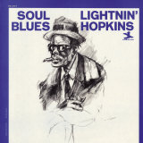 Lightnin' Hopkins - Soul Blues Poster
