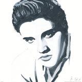 Elvis Print by Bob Celic