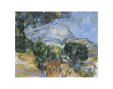 Mount Sainte-Victorie, c.1904 Prints by Paul Cézanne