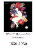 Manifattura di Lane Giclee Print by Leonetto Cappiello