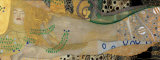 Serpentes d'água I, cerca de 1907 Pôsteres por Gustav Klimt