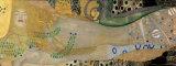 Serpientes acuáticas I, c.1907 Póster por Gustav Klimt