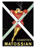 Cigarettes Matossian Giclee Print by Leonetto Cappiello