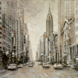 To the Chrysler Building Art by Matthew Daniels