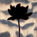 Blossom Silhouette I Art by Erin Lange