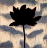 Blossom Silhouette I Art by Erin Lange