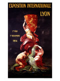 Exposition Internationale Lyon, 1914 Giclee Print by Leonetto Cappiello