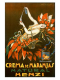 Henzi Orange Cream Soda Giclee Print by Achille Luciano Mauzan