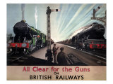 All Clear for the Guns Giclee Print
