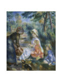 The Apple Seller, c.1890 Poster by Pierre-Auguste Renoir