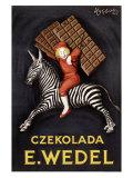 Czekolada E. Wedel Wydruk giclee autor Leonetto Cappiello