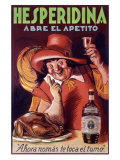 Hesperidina Elixer Drink Giclee Print by Achille Luciano Mauzan