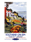 Southend-On-Sea, British Rail, c.1960 Giclee Print by Kenneth Steel