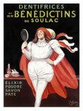 Benedictins de Soulac Giclee Print by Leonetto Cappiello