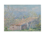 Gardener's House at Antibes, c.1888 Print by Claude Monet