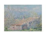 Gardener's House at Antibes, c.1888 Print by Claude Monet