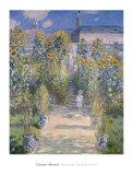 The Artist's Garden at Vetheuil, 1880 Kunstdrucke von Claude Monet