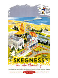 Skegness is So Bracing, British Rail, c.1956 Giclee Print by Kenneth Steel